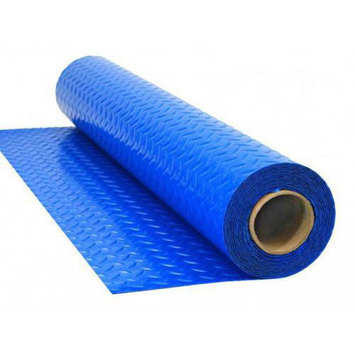 Blue Pvc Floor Protective Covering