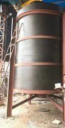 25KL Spiral HDPE Holding Tank