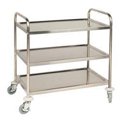 Instrument Trolley Three Shelf