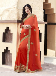 Color Shaded Saree
