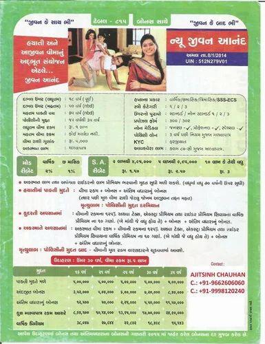 LIC New Jeevan Anand Plan, Life Insurance Policies, जीवन ...