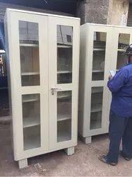 Glass Door Steel Almeraha