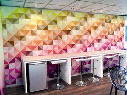 Geometric Designer Wall Paper
