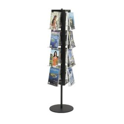 Rotating Magazine Display Stand