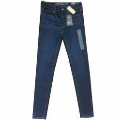 Slim Stretchable Designer Ladies Jeans