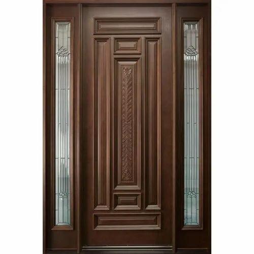 Polished Wooden Designer Door