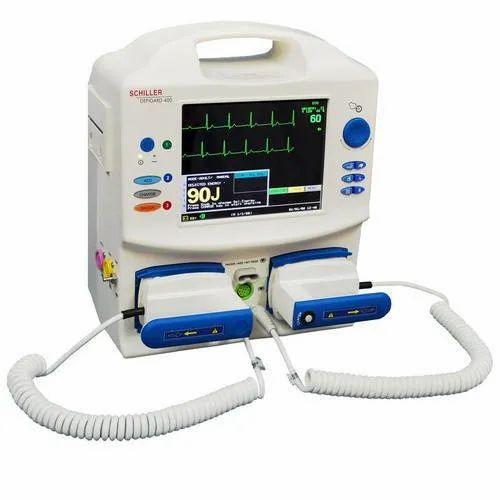 AED Defibrillator - Schiller Defigard 400 Biphasic AED
