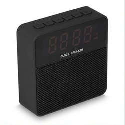 Jogger T1 Cloth Fabric Portable Bluetooth Mini Speaker with Alarm Clock
