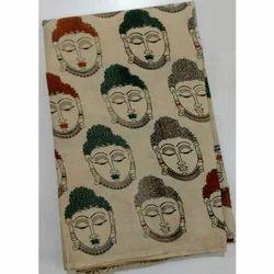 Printed Pure Kalamkari Fabric