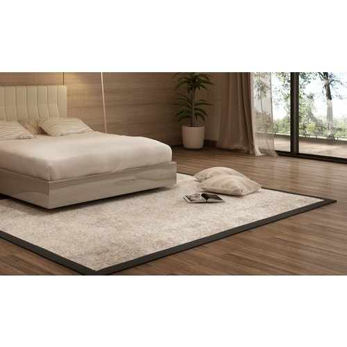 Cotton Rectangular Bedroom Plain Carpet