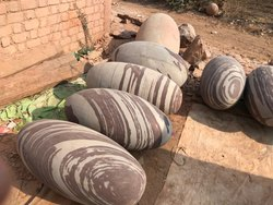 Large Shiva Lingams