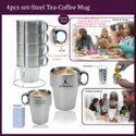 Steel Tea Coffee Mug