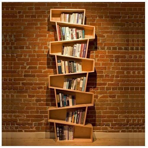 Brown Book Racks