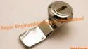 Zinc Die Casting Sagar Engineering Works Screw Type Die Cast Panel Lock, Chrome, For Door Lock