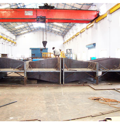 Radial Gate Anchorage Planned Welding Sequence