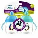 Plastic Transparent Philips Avent Premium Spout Cup 200 Ml