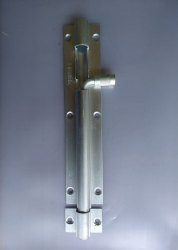 Aluminum Tower Bolt 6 SS Finish
