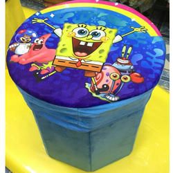 Kids Storage Stool