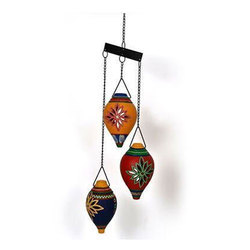 The Old Man Arts Terracotta Wind Chain