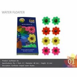Sunflower (S) Water Floating Candles