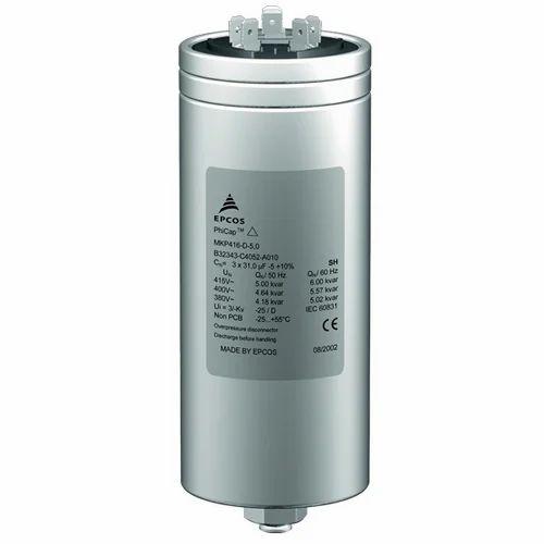 Epcos 25 Kvar Phicap Power Capacitor
