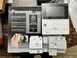 Panasonic Wireless Video Intercom
