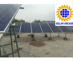 Off-Grid Solar Plant