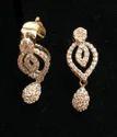 Natural Diamond Earring (dj-e1)