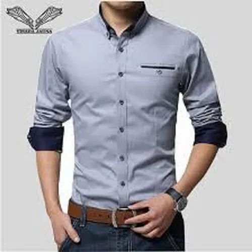 Collar Neck Formal Business Shirts