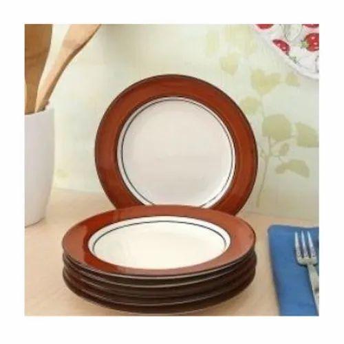 Ceramic Round Dinner Plate Set