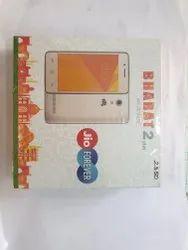 Micromax Black Jio Mobile Phones BHARAT 2 plus, Memory Size: 8GB