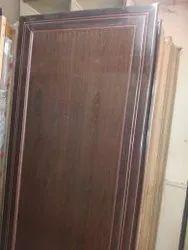 Hinjed Lever Handle PVC Plastic Doors, Door Thickness 30mm