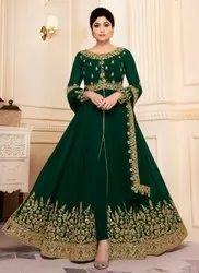 Shamita Shetty Style Anarkali Suits