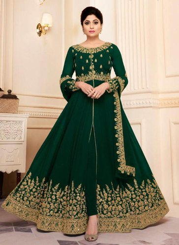 e5c51636f2 Shamita Shetty Style Anarkali Suits at Rs 2825 /piece   Anarkali ...