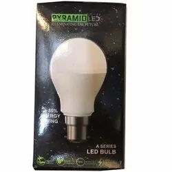 Pyramid LED Bulb, Base Type: E40
