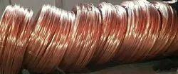 Brown Millberry Copper Wire Scrap 99 99% Copper Cathodes, Grade: AA, Packaging Size: Loos Paking