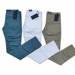 Slim Fit Casual Men Cotton Pant