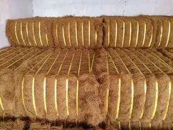Golden Brown Coconut Fibre, For Mattress, Packaging Type: Bale