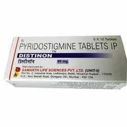 Allopathic Pyridostigmine Bromide Tablet, for Clinical, 60mg