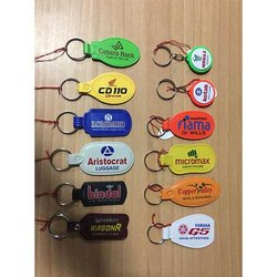 Plastic Promotional  Key Ring