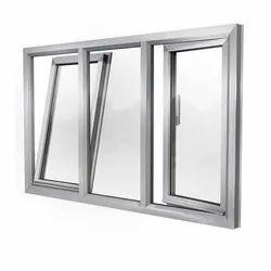 Modern Powder Coated Aluminium Tilt Window, for Home