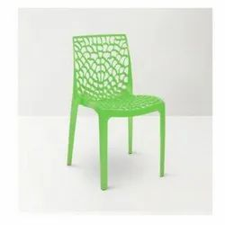 Indoor Green Plastic Chair