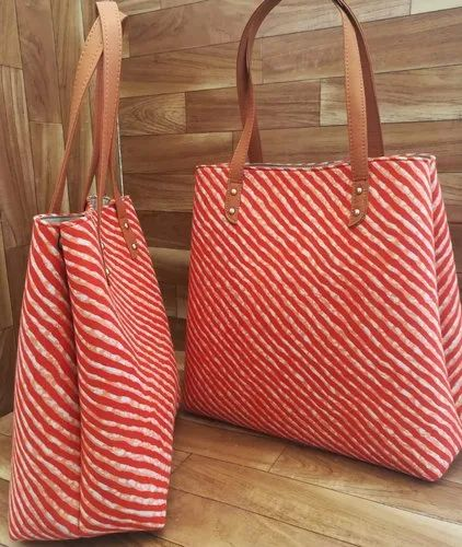 Azzra Printed Tote Bags For College Rs