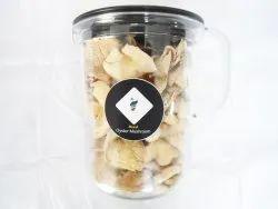 Pan India Dry Oyster Mushroom, Packaging Type: Plastic Jar, Packaging Size: 500gm