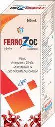 Ferric Ammonium Citrate, Cyanocobalamin, Folic Acid, Zinc Sulphate Syrup