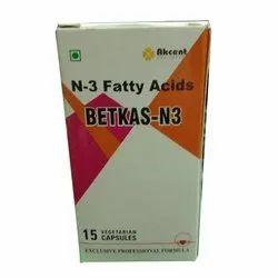N-3 Fatty Acids Capsules, Betkas N3