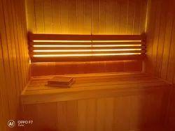 Sauna Wooden Construction Cabinet
