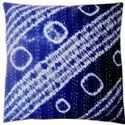Indigo Kantha Cushion Covers