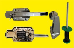 Stainless Steel Cold Room Door Latch I -265, Size: 44mm - 60mm