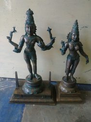 Lord Shiva Parvati Statue